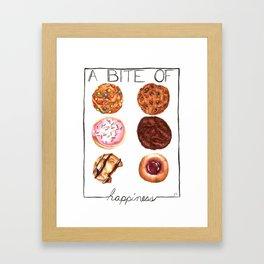 Sweet Bite Framed Art Print