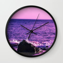 Cape May Sunset  Wall Clock