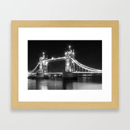 LONDON Tower Bridge Framed Art Print
