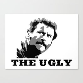The Ugly Canvas Print