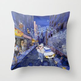 Long Live the New Jack Throw Pillow