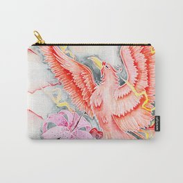 Phoenix Watercolor Illustration by Sophi Art Carry-All Pouch