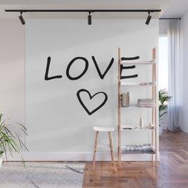 LOVE HEART Wall Mural