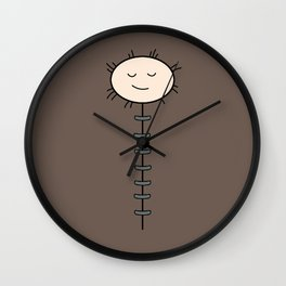 Finn Sleeping Bag Wall Clock