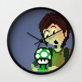 Ellie (The Last of Us) & Fungus Wall Clock