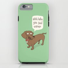 Immature Dachshund Tough Case iPhone 6