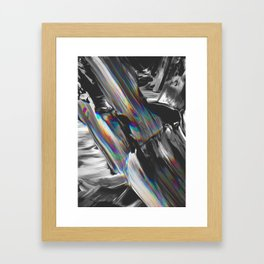 SNAKE IN THE GRASS Framed Art Print