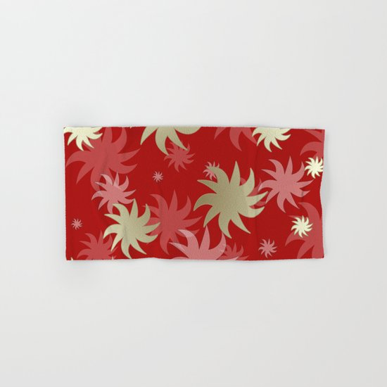 CHRISTMAS STARS 04 Hand & Bath Towel