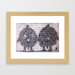 PASSERI 1 Framed Art Print