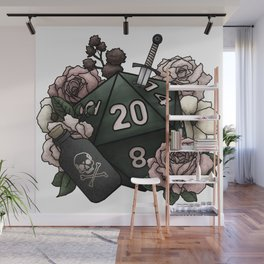 Rogue Class D20 - Tabletop Gaming Dice Wall Mural