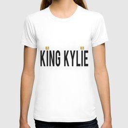 KING KYLIE - BLACK T-shirt