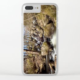 Becky Falls in Spring Clear iPhone Case
