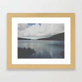 Ripple. Framed Art Print