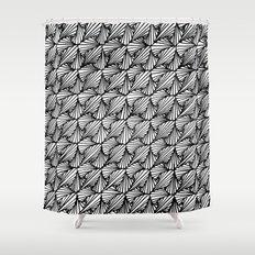 Zentangle Paradox  Shower Curtain