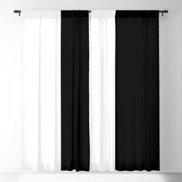 WHITE|BLACK Blackout Curtain