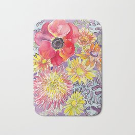 Mum and Poppy Bath Mat
