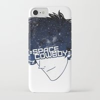 cowboy bebop iPhone & iPod Cases featuring Space Cowboy by Pyier Trpn