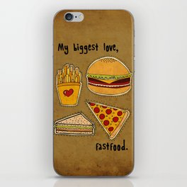 My Biggest Love iPhone Skin