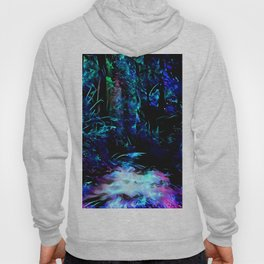 Blacklight Dreams of the Forest Hoody