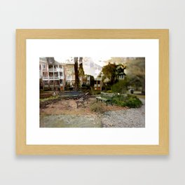 "00:00:56, ""Acquired Aberration"" series Framed Art Print"