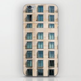 Modern Architecture building facade , Berlin, Germany iPhone Skin