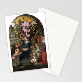 vergine maria Stationery Cards