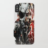 metal gear iPhone & iPod Cases featuring Metal Gear Solid V by Hisham Al Riyami