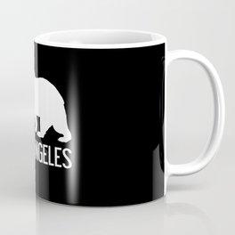 Los Angeles and California Bear Coffee Mug