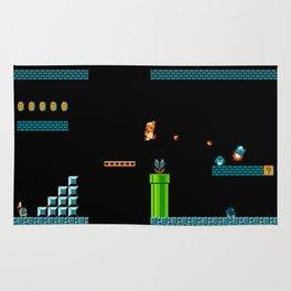 Mario Underworld Rug