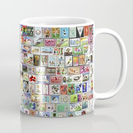 Soccer Stamps Coffee Mug