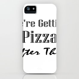 Funny Workout For Women Men iPhone Case