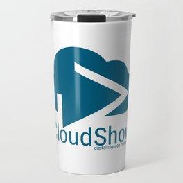 CloudShow (blue logo) Travel Mug