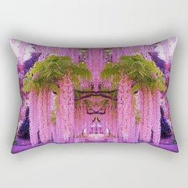 Wisteria Gardens Japan Rectangular Pillow