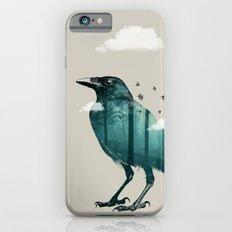 Teal Raven iPhone 6s Slim Case