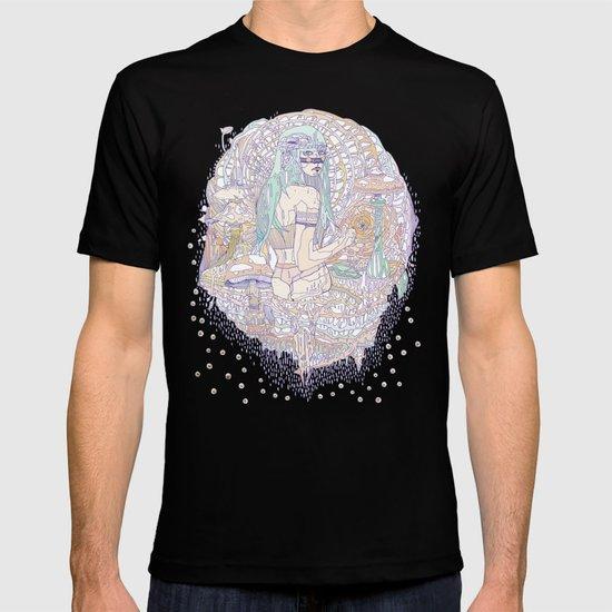 hues in moss T-shirt