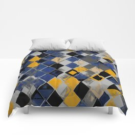 Abstract Composition 390 Comforters