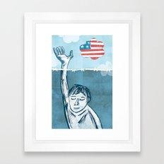DREAM Act Framed Art Print