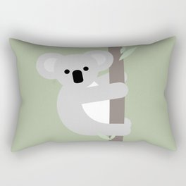 Koala, Australian wildlife, geometric Rectangular Pillow