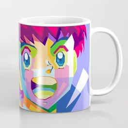 Captain Tsubasa in pop art wpap Coffee Mug