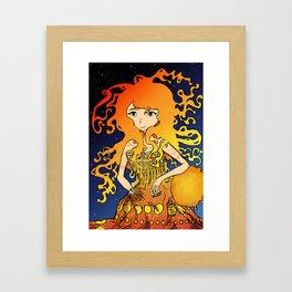 Young Sun Framed Art Print