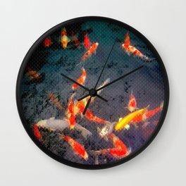 Sensō-ji Koi Wall Clock