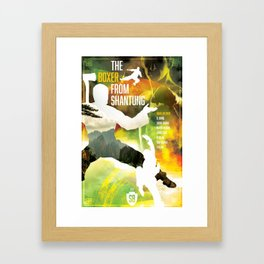 Shaw Brothers Poster Series :: Boxer From Shantung Framed Art Print
