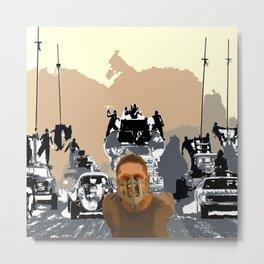 Mad Max Rockatansky Metal Print