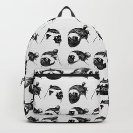 Pug Buns Backpack