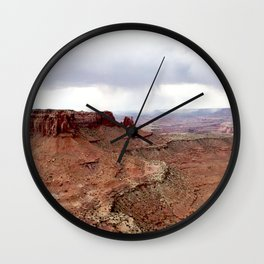 Moab Lookout Wall Clock