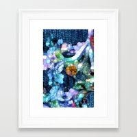 aquarius Framed Art Prints featuring Aquarius by Joke Vermeer