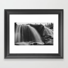 Waterfall #wallprint Framed Art Print