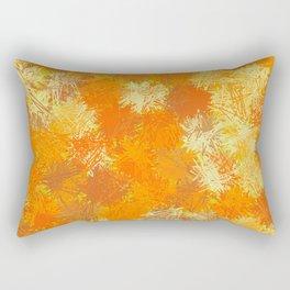 Pumpkin Tumbleweeds Rectangular Pillow