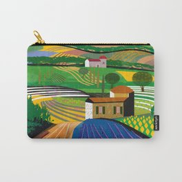 Lavender Farm Carry-All Pouch