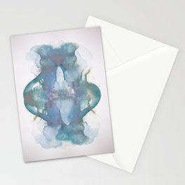 Purple Pond Reflection Stationery Cards